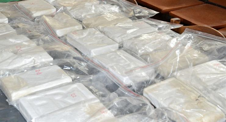 в Чорногорії було вилучено більше тонни кокаїну