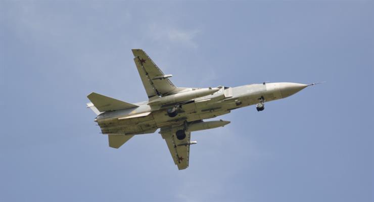 Су-24 розбився в Росії