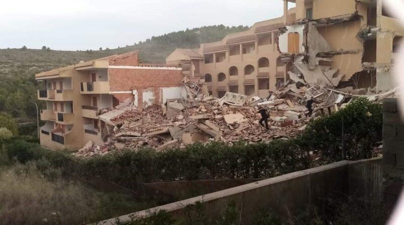 в Іспанії обвалилася будівля, шукають тих, хто вижив