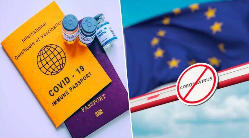 ЄС і Шенген визнають паспорта COVID України