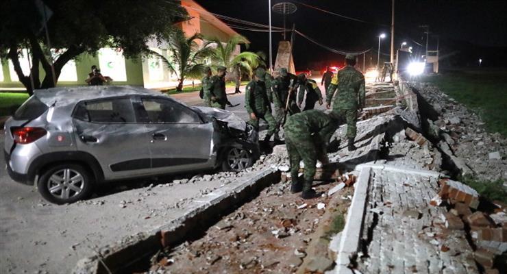 730 000 людей залишилися без електрики в Мехіко після землетрусу
