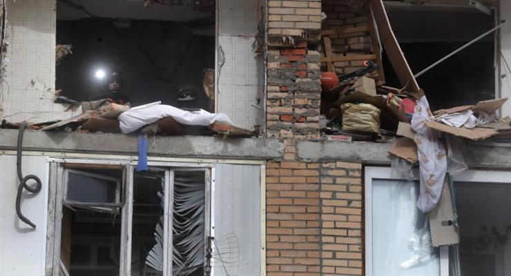 вибуху газу в багатоквартирному будинку в Росії