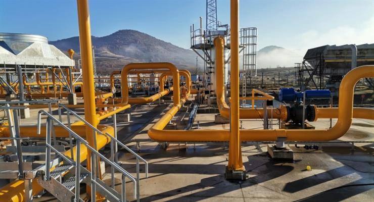 цена на газ в Европе превысила рекордные 700 долларов