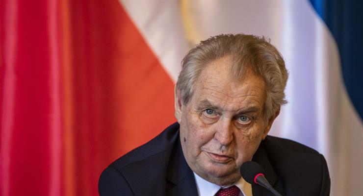 президент Чехії Мілош Земан госпіталізований