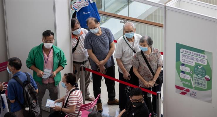 в Китае полностью вакцинированы более 1 миллиарда человек