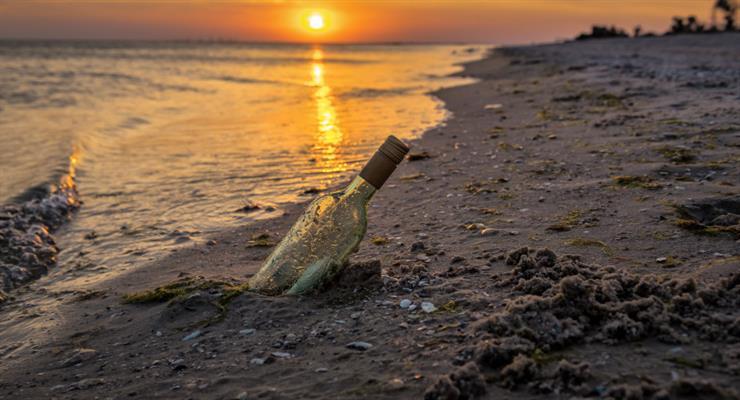 Японський лист у пляшці виплив на Гаваях ... 37 років по тому