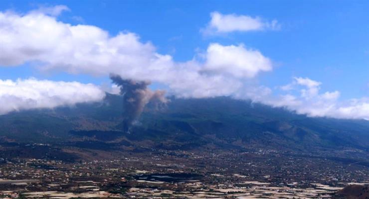 Більш 5000 чоловік були евакуйовані з Канарських островів через вулкан