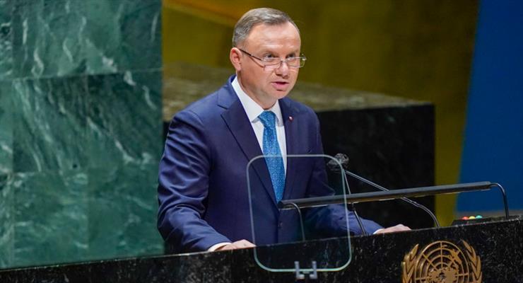 Дуда: Россия и Беларусь - агрессоры, на что международное сообщество не обращает внимания