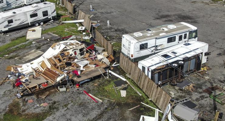 Ураган приніс рекордні збитки страховикам США