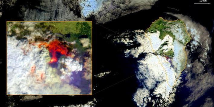 Виверження вулкана на Канарських островах