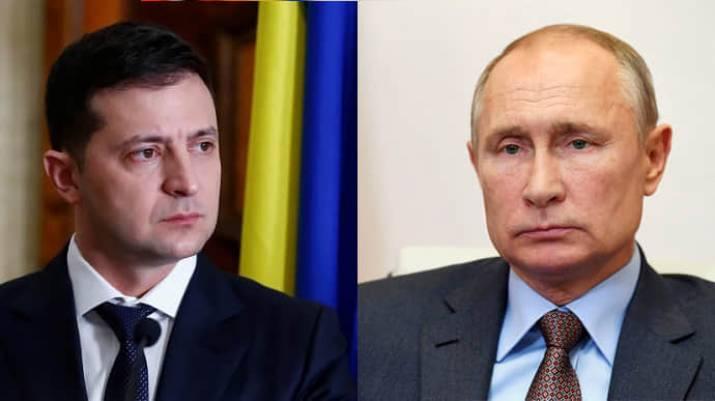 Путін відмовився обговорювати Донбас із Зеленським