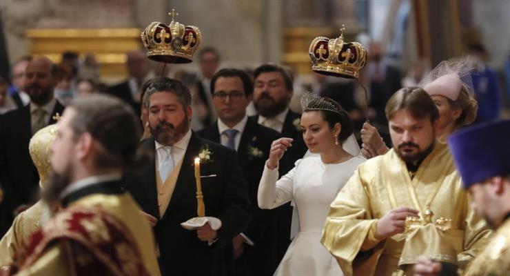 потомок императоров женился в России впервые после большевистского переворота