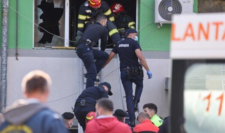 Дев'ять людей загинули в результаті пожежі в інфекційній лікарні в Румунії