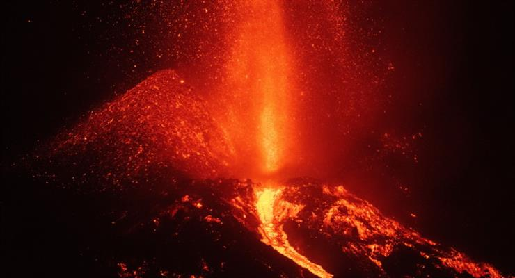 Обрушилася частина вулкана Ла Пальми