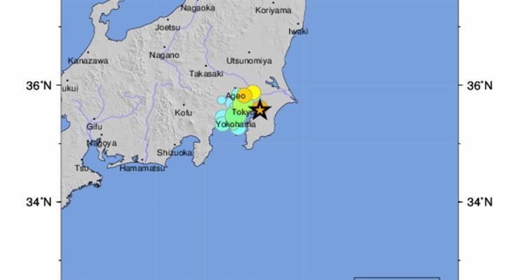 19 людей постраждали в результаті землетрусу в Японії