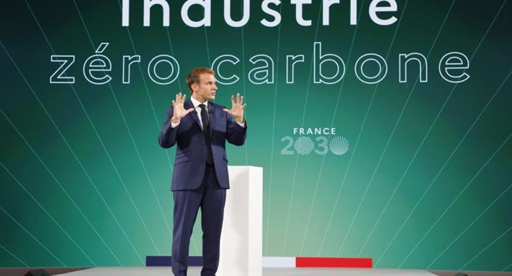 Франція хоче бути лідером в області зеленої енергії, малих реакторів в плані інновацій на 30 мільярдів євро