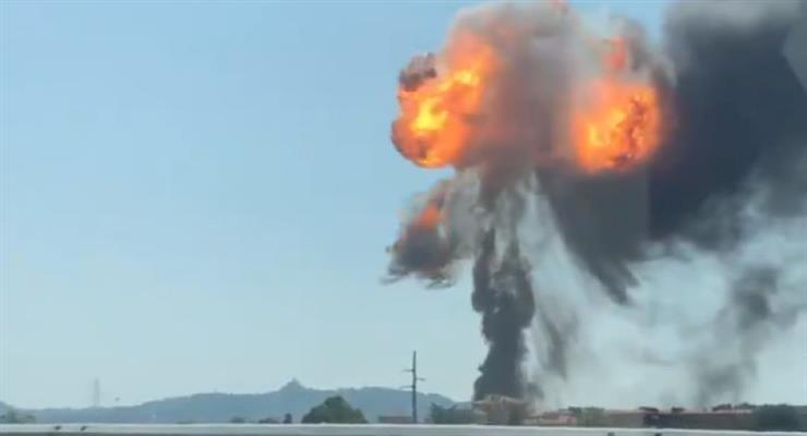 Одна людина загинула і декілька десятків отримали поранення в результаті вибуху на хімічному заводі в Бурсі