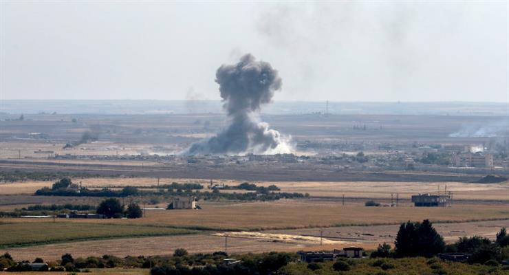 Росія продовжує наносити авіаудари по Сирії