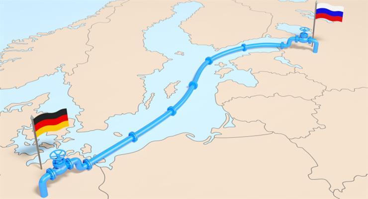 Одна гілка «Північного потоку - 2» вже заповнена технічним газом