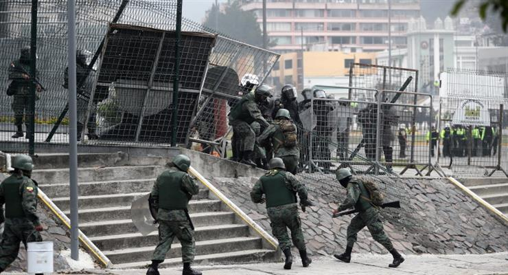 Еквадор кинув армію і поліцію на боротьбу з незаконним обігом наркотиків