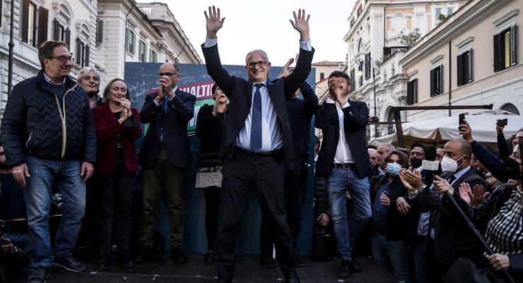Ліві перемагають на виборах мера Рима, «П'ять зірок» - програють