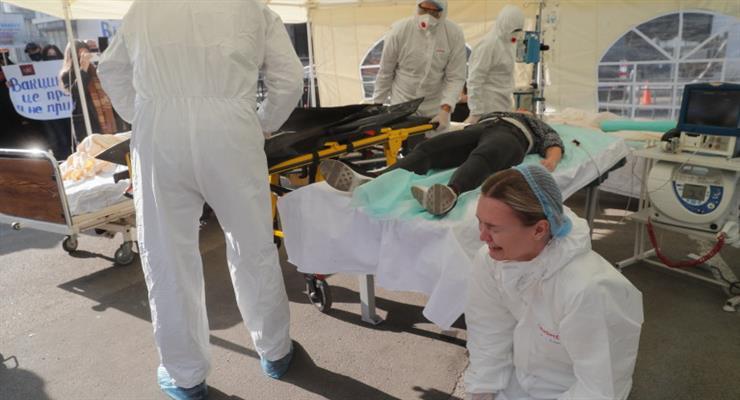 Україна побила рекорд по смертності від COVID-19