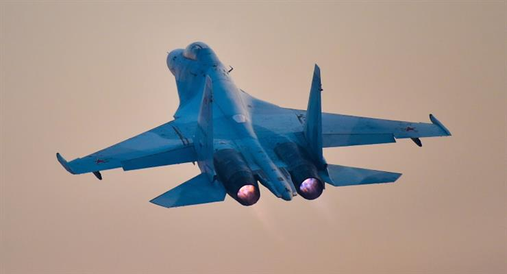Россия подняла два истребителя Су-30 против двух американских бомбардировщиков над Черным морем