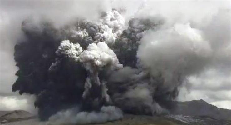 Найбільший діючий вулкан Японії вивергся