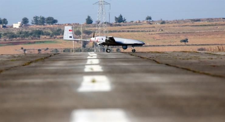 Українські військові показали перше використання турецького безпілотника Bayraktar на Донбасі