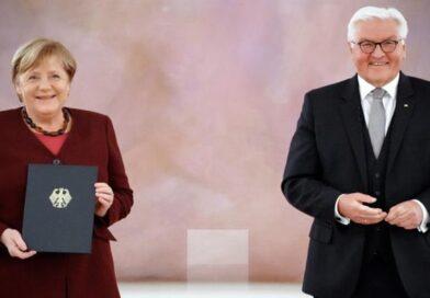 Ангела Меркель больше не является канцлером