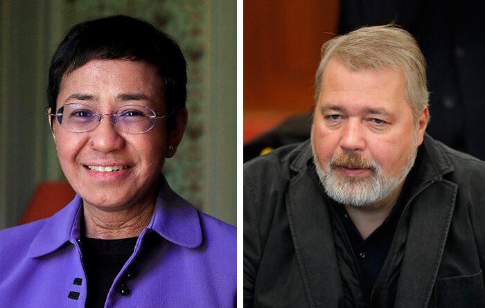 філіппінський журналіст і головний редактор «Нової газети» удостоєні Нобелівської премії миру