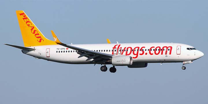 Лоукост Pegasus Airlines